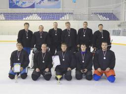 Сборная Пижанского района по хоккею.
