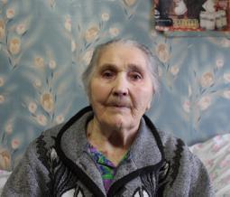 Анна Григорьевна Елькина.