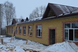 Новый детский сад на 100 мест в Пижанке.