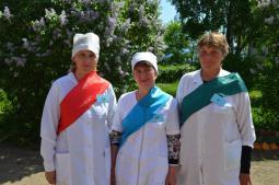 Победители конкурса:                 Н.М. Христолюбова, В.А. Агапитова, М.Г. Киселёва.