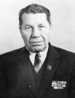 2. П.Н. Лоптев – председатель колхоза «Земледелец»