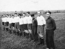 Футбольная команда п. Пижанка. 1958 г.