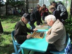 Шахматное состязание.