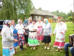 На Дне деревни в Пекшикове.