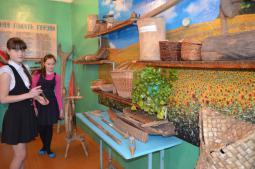 В музее школы д. Второй Ластик.