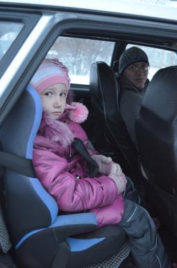 Владимир Николаевич Христолюбов обезопасил дочь Лизу при поездке в машине – он купил детское кресло. И вы позаботьтесь о самом дорогом!