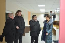 Многофункциональный центр.    Разговор с руководителем центра Е.Н. Лаптевой.