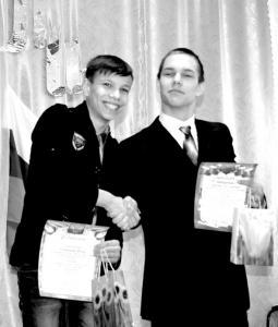 Илья Сичинава и Степан Протасов.