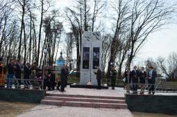 Обелиск Победы на Аллее славы.