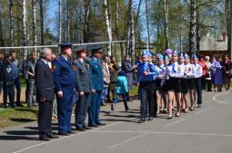 Отряд школы д. Мари-Ошаево.