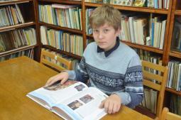 Семён Бусыгин, учащийся 7«б» класса школы п. Пижанка.
