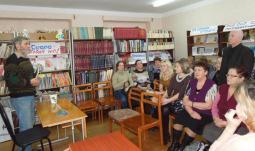 На презентации книги С.Е. Шелепова.