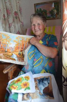 А.И. Одинцова, жительница Мари-Ошаева