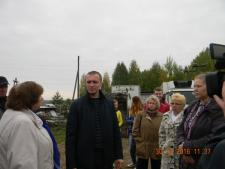 На первом плане: О. Лушникова, А. Рыков, И. Головкова.