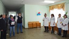 Открытие мероприятия. Специалистов приветствует глава Пижанского района В.А. ДОМРАЧЕВ.