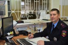 А.А. Лаптев, оперативный дежурный дежурной части