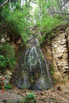 Береснятский трёхкаскадный водопад