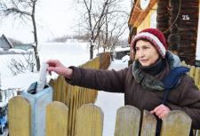 Лидия Васильевна СИДОРОВА, почтально в д. Русская Шуйма