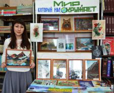 Юная художница Анастасия Захарова