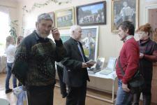 персональная выставка работ В.В. Унженина в Яранске