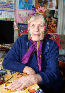 Мария Степановна Журавлёва из с. Обухово