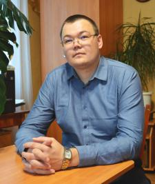 Евгений Сергеевич РЕДЬКИН, глава Обуховского сельского поселения Пижанского района