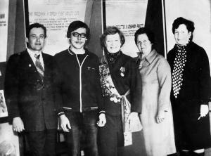 Мария Исакова в 80-е в Пижанке