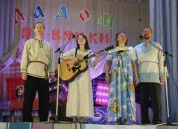 Творческий коллектив из д. Бурдино Пижанского района.