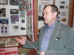А.А. Чирков, учитель истории школы д. Мари-Ошаево.