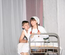 А. Лаптев, П. Овчинникова.