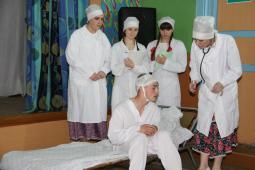 Л.Люкина, К.Куклина, П.Овчинникова, Н. Жаровцева, И. Русинов.