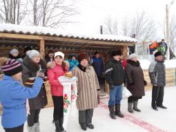 Открытие хоккейной коробки в Пайгишеве.