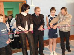 Открытие спорткомплекса в д. Безводное.