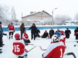 Сборная района по хоккею.